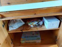 Wooden writing desk