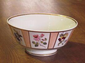 Hand painted powder bowl