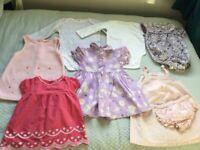 Bundle girls clothes 6-12m