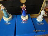 Disney Frozen ' Jewellery Trinket box 3 Anna Elsa Olaf