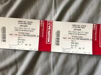 2 x Eminem Tickets Sat 14th July