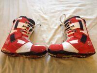 Vans Andreas Wig snowboard boots sz 12uk