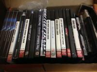 Massive lot of DVD's Video Movies Films CD's and many Playstation 2 Games