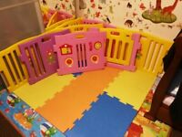 Baby Playpen and Activity Centre