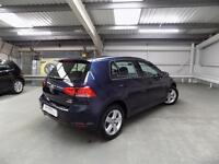 Volkswagen Golf MATCH EDITION TDI BMT DSG (blue) 2016-09-01