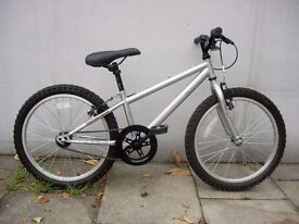 Kids Mountain Bike by Apollo, Silver, 20 inch Wheels for Kids 7+, JUST SERVICED / CHEAP PRICE!!!!!!