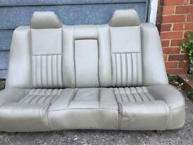 Alfa Romeo 166 leather seats interior