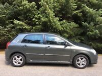 1.4 DIESEL TOYOTA COROLLA COLOUR COLLECTION 5 DOOR 1 FORMER OWNER