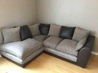 Corner sofa and 2 seater