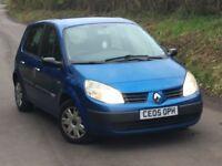 Renault megane scenic 1,5 diesel low mileage