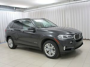 2015 BMW X5 35i x-DRIVE SUV w/ NAVIGATION, PANO ROOF, HEAD UP