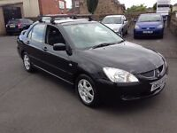 1 OWNER MITSUBISHI LANCER 55 REG 05 1,6 RELIABLE CAR £675 CHEAPER PX WELCOME