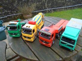 Bruder lorry bundle