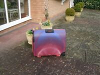Strong Carlton suitcase in good condition