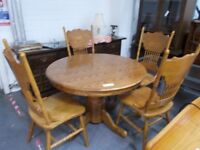 Kitchen Table and 4 chairs 32090 £120