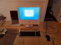 Apple iMac G5/1.6GHz 17-Inch Colour Screen Upgraded Memory, Plays DVD Movies