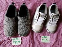 Toddler shoes Zara & Next