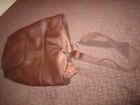 Pell-Mell Accessories – large brown leather men's holdall in very good condition.