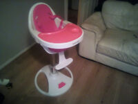 bonito bebe 360 swivel high chair