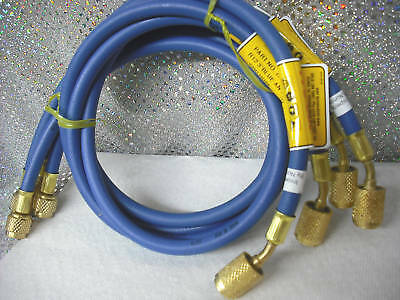 Cps Blue 36 Charging Hose Wanti-blow-back Fitting
