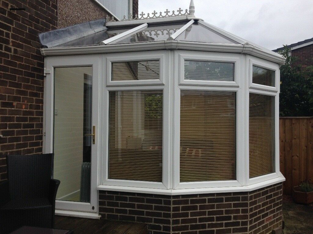 Anglian Conservatory, solid glass roof, must be able to ...