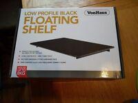 VonHaus Floating Glass Shelf