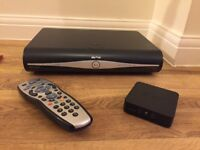 Sky+ HD Box with Wifi box, remote control and all leads - buyer to collect Cardiff
