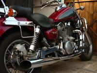 Kawasaki Vulcan VN 1500 Classic Cruiser Custom swap motorbike and sidecar trike combo combination