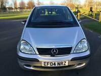 Mercedes A Class 1.4 A140 5 Door Automatic 48000 Miles service history