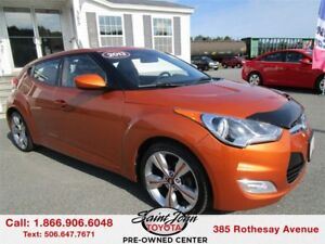 2013 Hyundai Veloster Tech $130.10 BIWEEKLY!!!