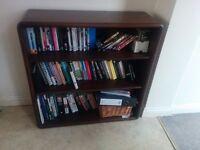 Norwegian Rosewood Bookcase.