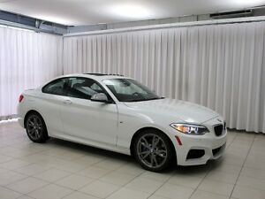 2015 BMW 2 Series M235i x-DRIVE COUPE 330hp w/ NAV, MOONROOF & R