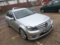 2012 MERCEDES C220 CDI SPORT AUTOMATIC DIESEL SAT NAV 2 OWNERS 74 000 MILES HPI CLEAR