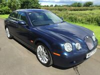 2007 Jaguar S-Type XS 2.7TD Automatic, FSH, Mot'd Dec 2016 6mth warranty