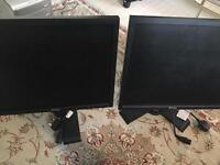 Flat Panel Standard 19' Monitor x2