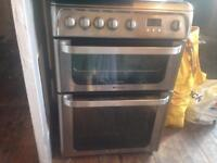 Hot point ultima gas cooker