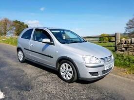 Corsa sxi plus 2006 86k years mot