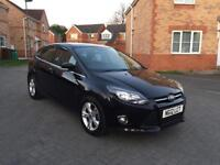 2012 FORD FOCUS ZETEC 1.6 TDCI , 12 MONTH MOT, SERVICE HISTORY, FULL HPI CLEAR, LOW MILEAGE,