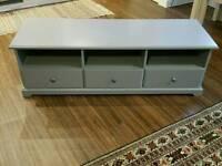Ikea TV Bench grey color
