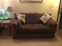 Sofa x 2 two seater sofa - in good condition