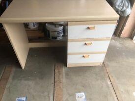 Desk and corner unit - good condition £70.00