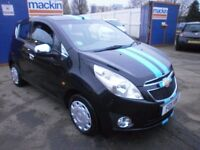 2011 CHEVROLET SPARK 1.2 LS 5DOOR HATCHBACK, FULL SERVICE HISTORY, HPI CLEAR, DRIVES VERY NICE