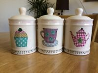 China Storage Jars for tea/coffee/sugar