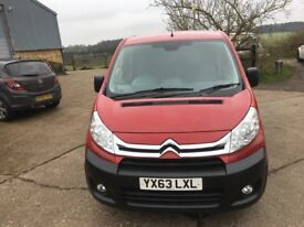CITROEN DISPATCH WITH AIR CON.2013/63.GOOD RUNNER.SPARE KEY.1 PREVIOUS OWNER
