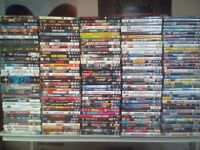 Job lot over 260 dvds for sale