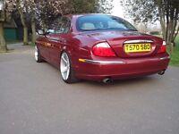 jaguar s type 3.0 V6 auto (stanced - modified)