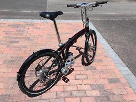 "Folding Bike Tern Eclipse P9, 24"" wheels"