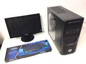 Gaming Computer PC, Complete Setup (AMD Quad Core, 16GB RAM, 1TB HD, GTX 960 Nvidia Graphics)