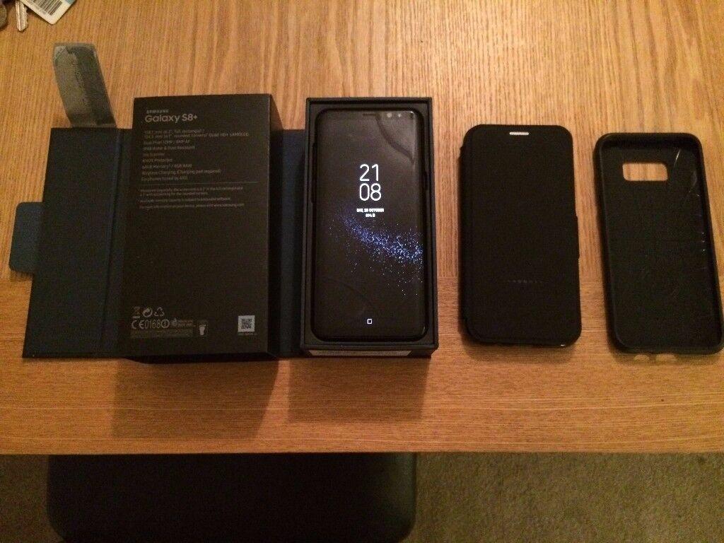 Samsung Galaxy S8+ 64Gb with 64Gb memory card - Unlocked!