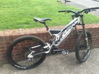 Turner downhill mountain bike